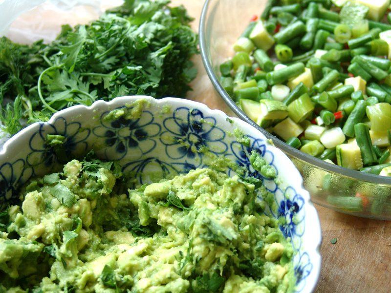 Guacamole, de avocado dip