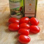 Poffen van tomaatjes doe je in de oven