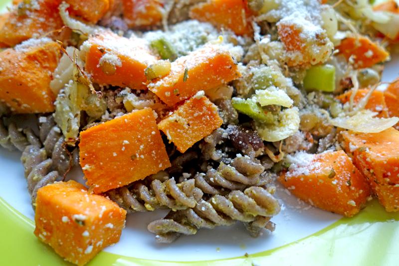 Vegetarisch en gevarieerd deze door de weekse maaltijd!