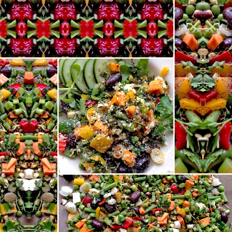 De koelkast leeg door al je groenten te mixen