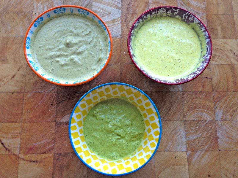 Extreem Mayo-sauzen maak je met groenten en kruiden - Kook je Beter @WI88