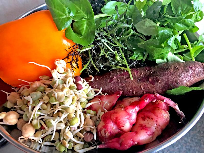 200 gram groenten bij je avondeten