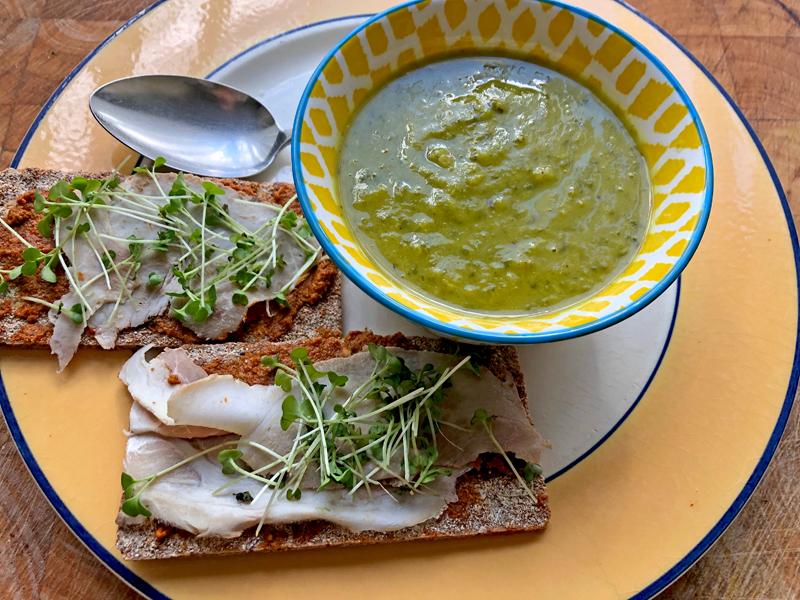 Met radijsblad maak je een soep in een handomdraai!