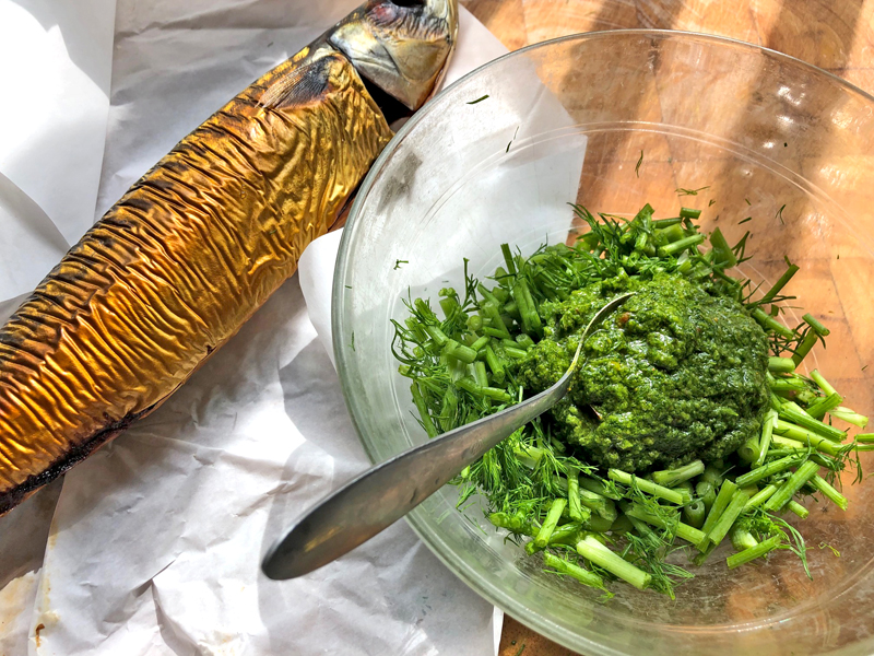 Dille pesto als de grote smaakmaker van je diner