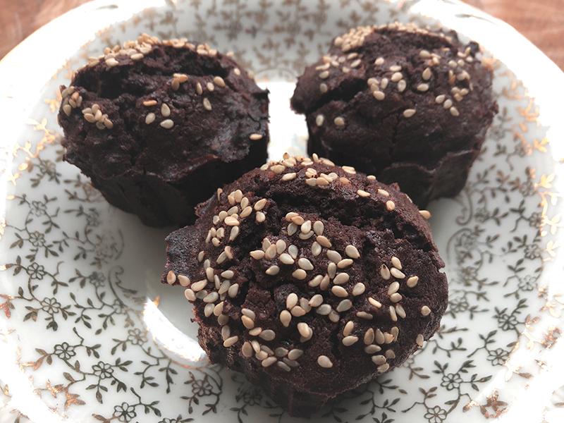 Kidneybonen, chocolade met noten en gember